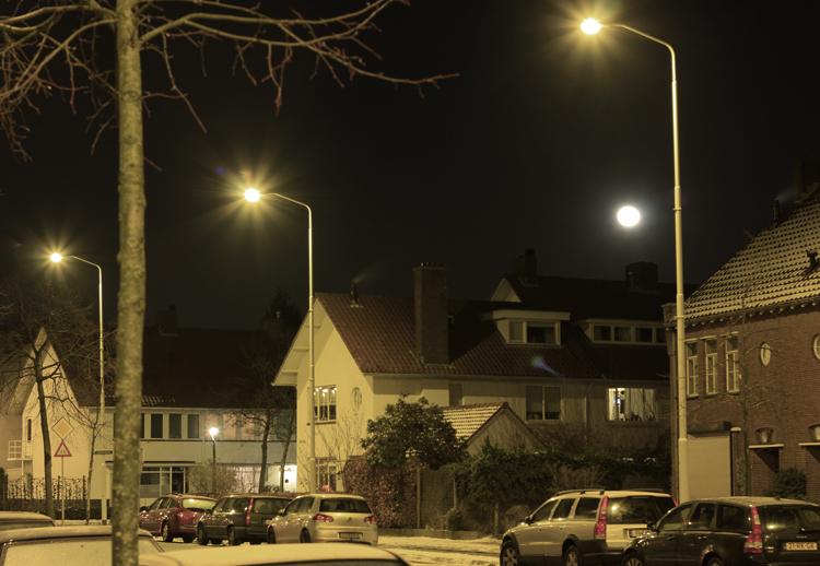 Луна в Голландии.